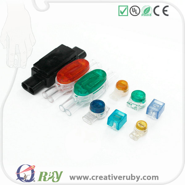 Factory AWG23 / 24 PE Durable Scotchlok Connector with UL CE Certificate