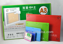 Double sides use magnetic card case,document protector holder ,double usage magnet holder