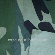 Waterproof Ripstop Polyester/Cotton Camouflage Fabric