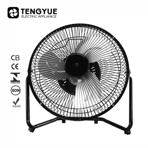 Cheap price metal Mini Table Fan 9 inch Table Mini Fan 3 blade 12v Dc Table Fan with brushless motor