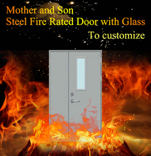 UL 3 Hours Fire Doors Standard Steel Fire Rated Doors