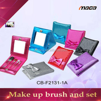 high quality cosmetic/make up brush set