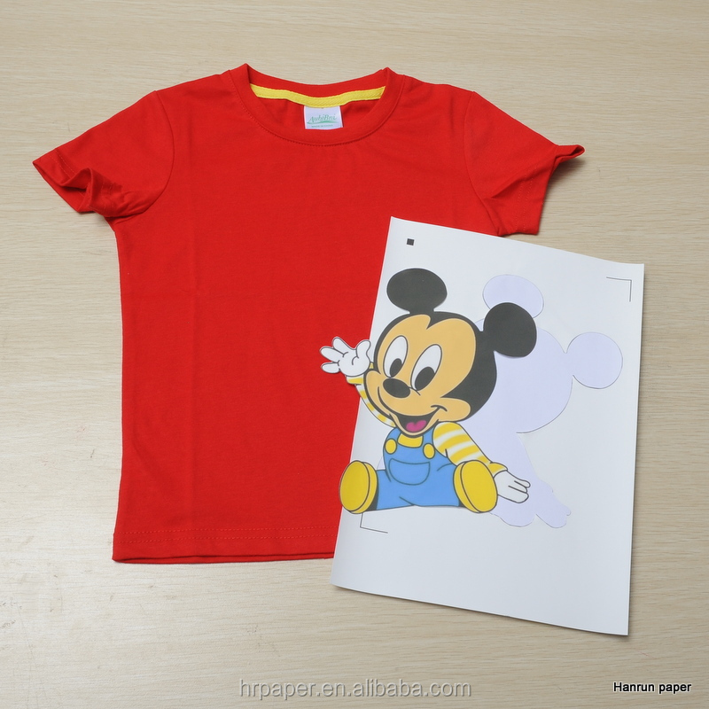 High quality soft scencth dark color t shirt heat transfer for Best quality t shirt transfer paper