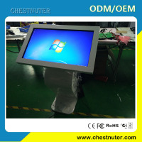 Free Customized Interactive Touch Panel,Remote Control Self Service Stand Alone Kiosk