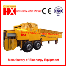 large Drum wood chipper for biomass power plant
