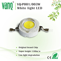 VANQLED best price Growth Led 1w led full spectrum 3w for hydroponic