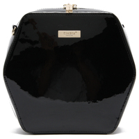 2015 Latest hexagon shape design just star bag with best patent leather