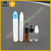10ml 20ml 30ml Wholesale Empty Plastic Pet Pen Shape Pe E-liquid Bottle With Cap For E Liquid