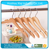 Wholesale custom wholesale cheap wooden hangers for clothes