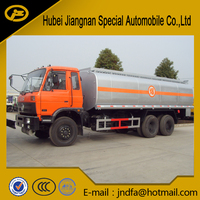 dongfeng 20000L petrol gasoline oil fuel tank tanker bowser truck oil tanker petrol tank truck fuel tank for sale