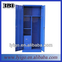 modern blue metal bedroom simple cupboard design