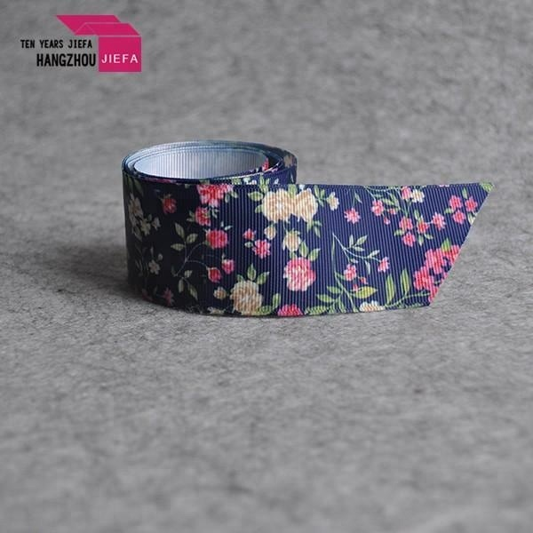 New design cross grain ribbon for craft and graduation