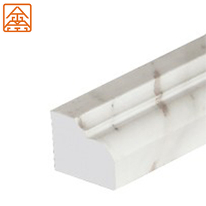 Tile trim moulding Artificial marble line for tiles marble stone profile