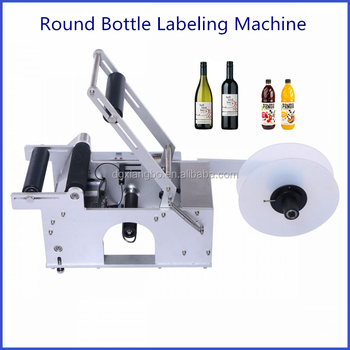 Dependable Performance High Speed Round Wine Bottle Labeling Machine