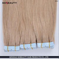 Virgin Remy Skin Weft Hair Double Drawn Tape Hair Extension China Factory Price