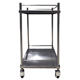 201stainless steel patient hospital dressing trolley