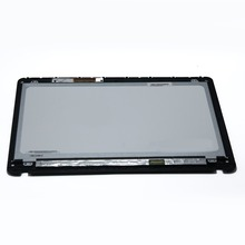 15.6'' N156HGE-LB1 For Sony Vaio SVF15 SVF152C29L LCD Touch Screen Glass + Bezel