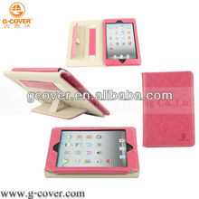 Fashionable leather tabelt case for ipad mini 2 3 4