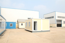 afterdisaster for mobile light prefab steel construction warehouse with office room