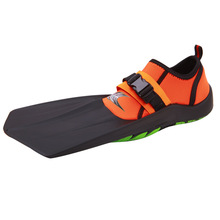 Water sports short flippers for swimming diving