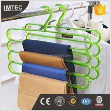 high quality plastic trouser hangers low MOQ European standard door to door service for European customer