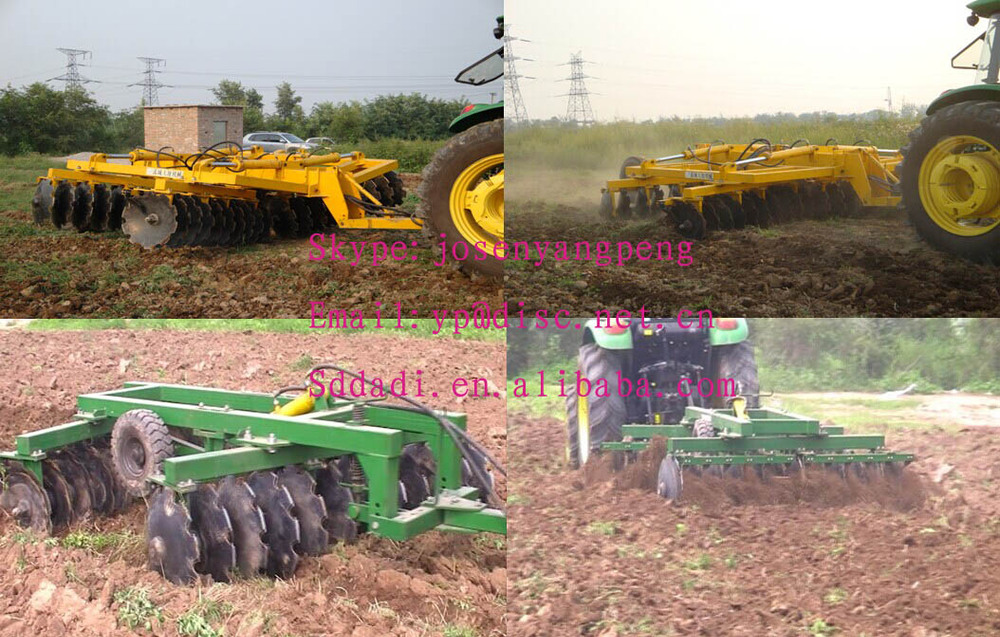 Hydraulic Folding Soil Tilling Machine