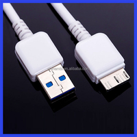 For Samsung Galaxy Note 3 Neo/ S5 USB 3.0 Sync Data Charger Charging Cable Lead White/ Black