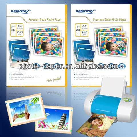 Photo Paper Epson Agfa quality 180g 260g