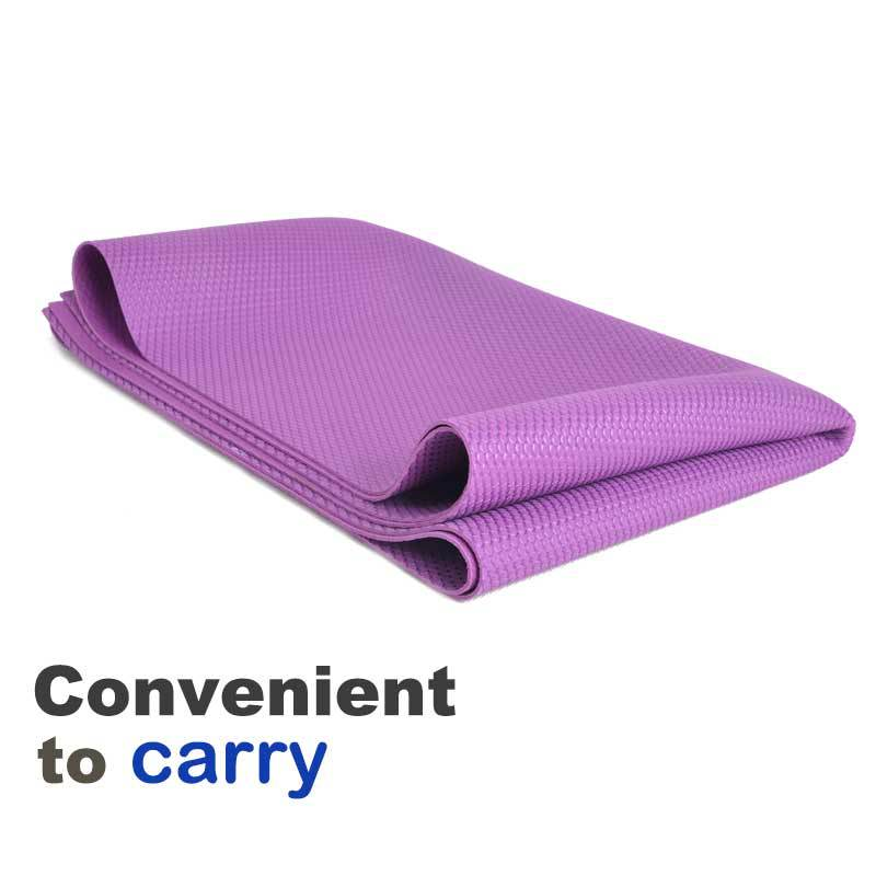 3mm natural rubber yoga mat more anti-slip size 24*72'' yoga mat manufacturer with washable mat yoga mat rolls