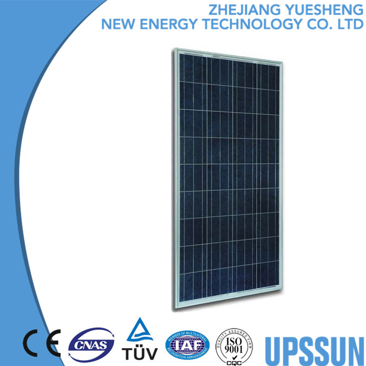 high efficiency 140w polycrystalline photovoltaic china panels solar energy module for home use with TUV UL CE IEC