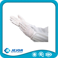PVC Dotted Anti Static Esd Gloves Static Control Glove