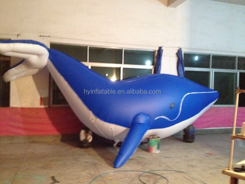 Great quality whale inflatable sea animal model