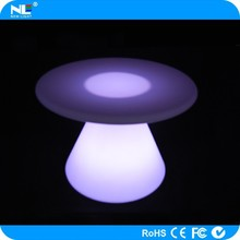 Waterproof LED high top cocktail tables / light up cool bar table / battery rechargeble LED coffee table