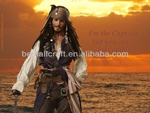 jack sparrow costume--high quality with best price