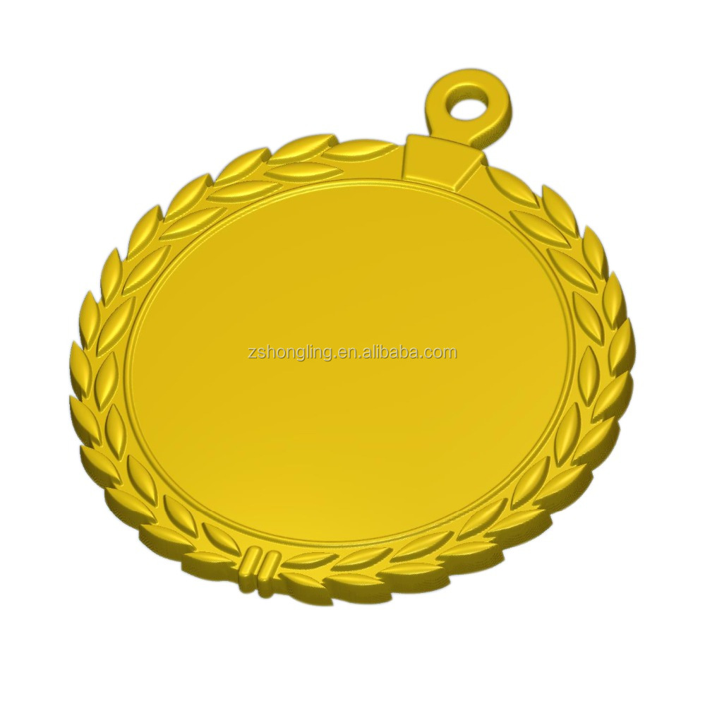 cheap blank ickers round blank metal medal