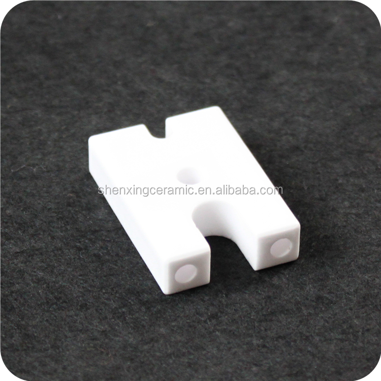 Abrasion resistance insulating glazed 95% alumina ceramic ignition electrode