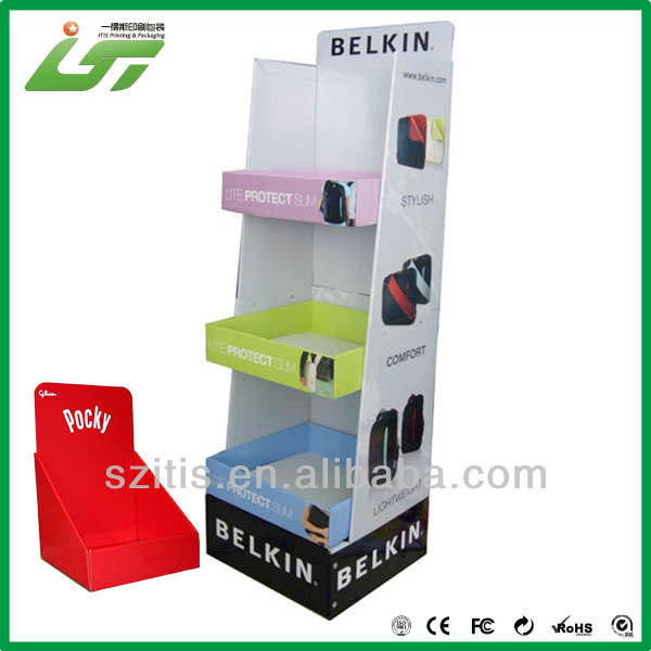 fancy free standing wire display rack supplier