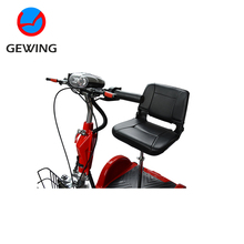 2017 Customized Motorized Tricycles Disabled For Adults With CE Approved