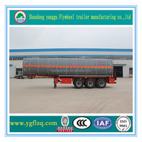 Hot Sale Professional Stainless Steel Styrene Tank Semi Truck Trailer