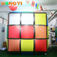 Business Promotion Inflatable Square Helium Balloon Cube Shape PVC Balloon Giant Inflatable Model