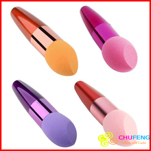 Free Shipping! Beauty Makeup Sponge Blender Flawless Smooth Beveling Shaped Powder Puff