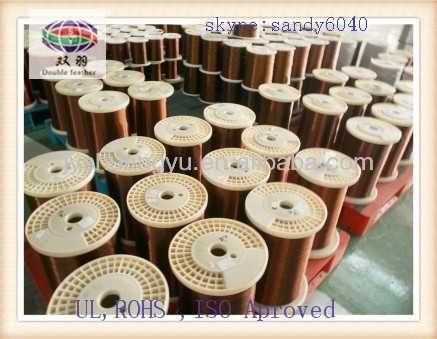 Polyester enamelled copper wires for electric cable production line