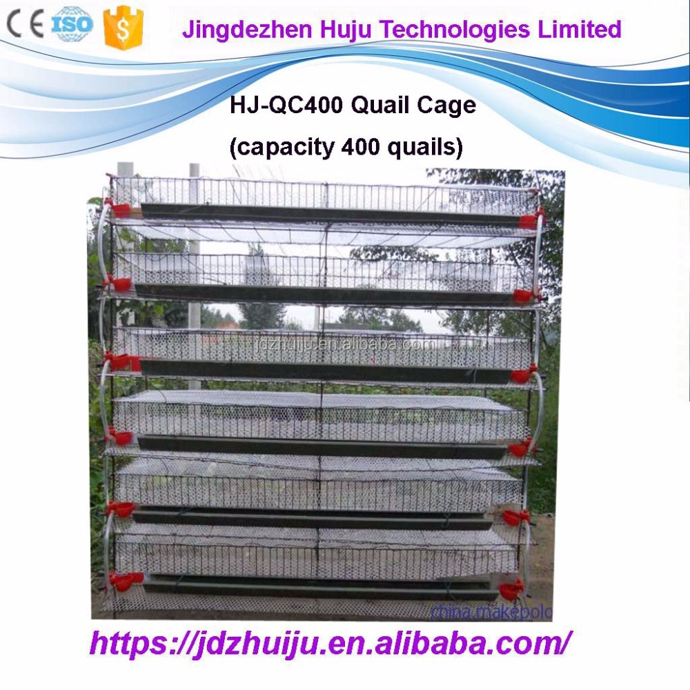 Automatic farm new design quail cage 6 layer cage for kenya farms HJ-QC400A