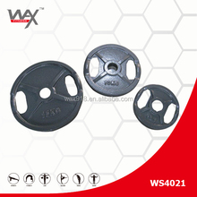 POWER LIFTING/PLATE/cast iron plate with handle cut