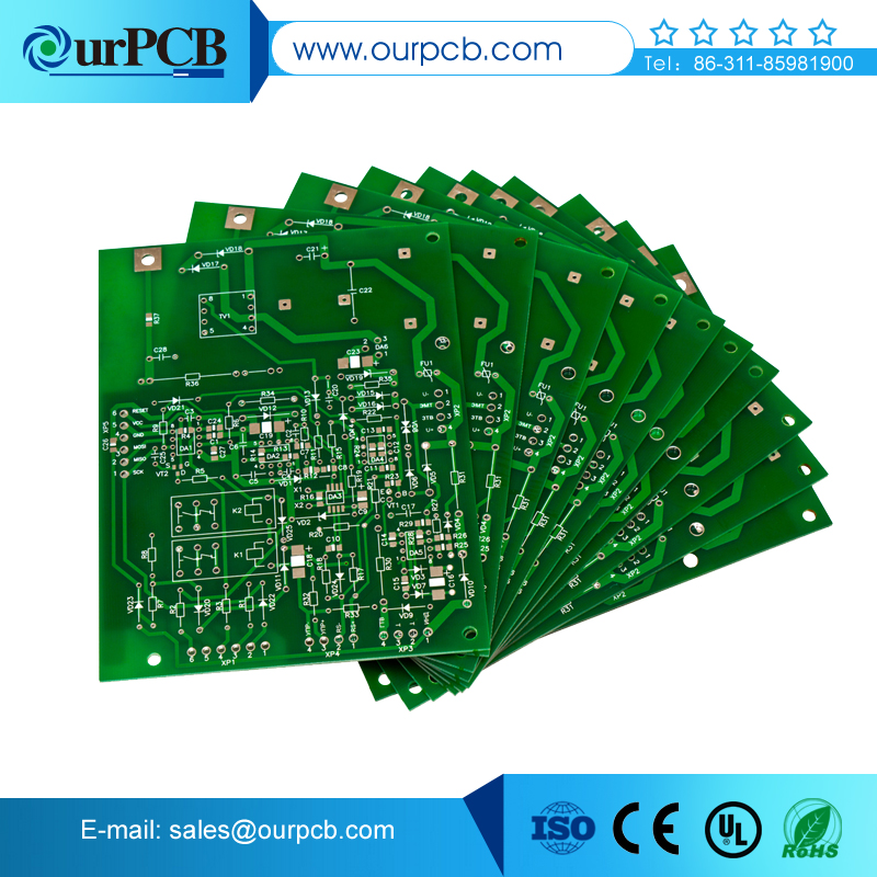 Two layers High quality digit circuit pcb trading company