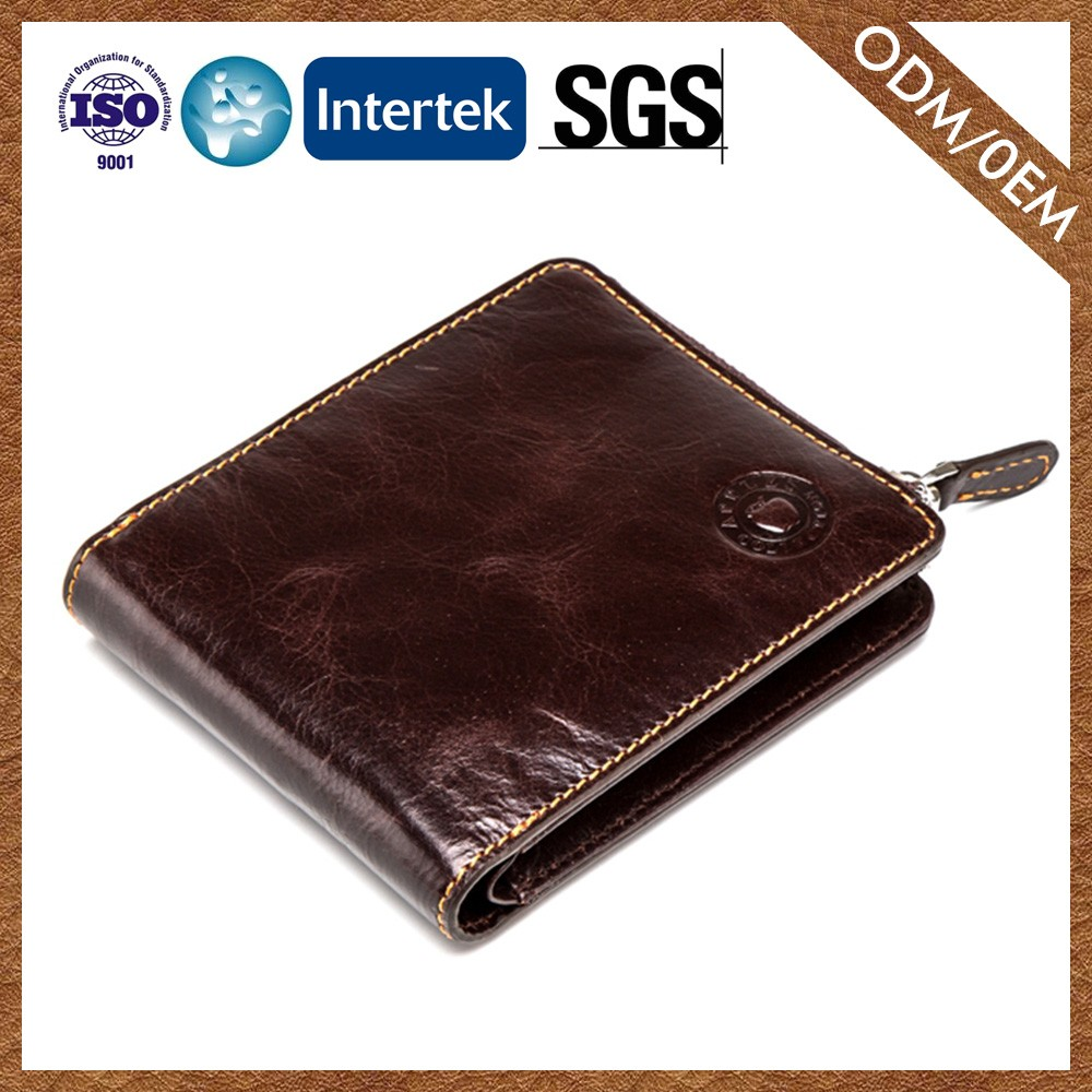 Factory Price Customized Oem Genuine Leather China Leather Wallet