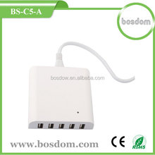 40w 5v 8a USB charger for iphone and more - powerful smart multi 5usb charger