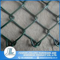 high strength heat treated galvanized chain link fence