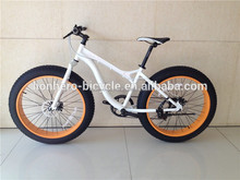 7 speed 26 inch fat bike with double disc brakes/bicycle manufacturer