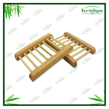 Wooden travel bamboo soap box